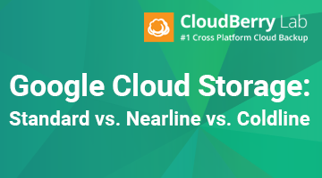 Google Storage: Standard vs. Nearline vs. Coldline