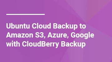 How to Backup Ubuntu to Amazon S3