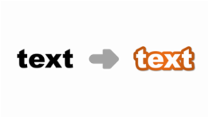 PowerPoint Bubble Text