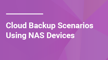 NAS Cloud Backup Strategies
