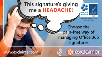 Do email signature updates give you a headache?