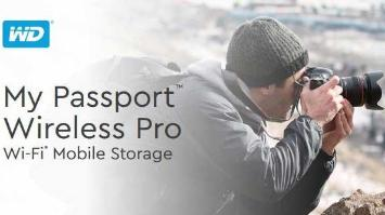 New! My Passport Wireless Pro Wi-Fi Mobile Storage