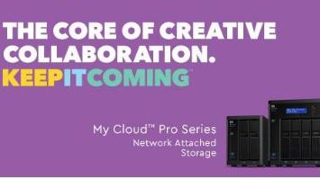 New My Cloud Pro Series - organize everything!