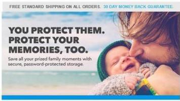 Save on storage to protect fatherhood memories