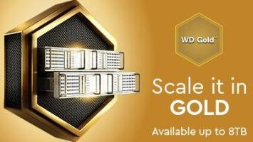 Scale it in WD Gold