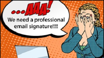 Are your corporate email signatures appalling?