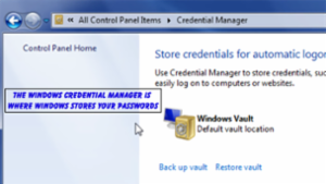 Windows Credential Manager