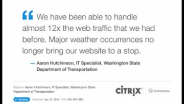 TechValidate Research on Citrix NetScaler