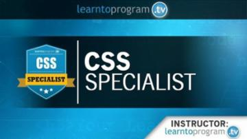 Course: CSS Specialist