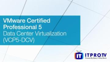 Course: VMware Certified Professional 5 VCP5-DCV