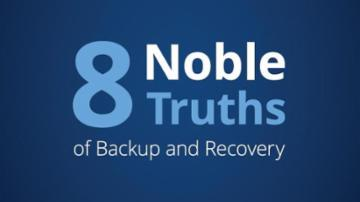 The Eight Noble Truths of Backup and Recovery