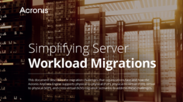 Simplifying Server Workload Migrations