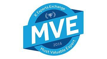 Announcing the Most Valuable Experts of 2016