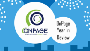 2016 – ONPAGE YEAR IN REVIEW