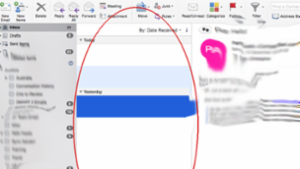 Blank message list Outlook 2016 for Mac