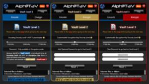 Alph@TaV - 3 Vaults Levels