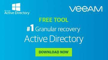 Free recovery tool for Microsoft Active Directory