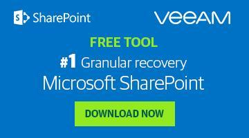 Get quick recovery of individual SharePoint items