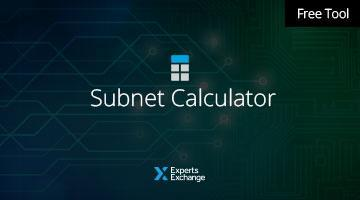 Free Tool: Subnet Calculator