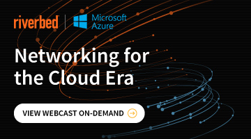On Demand Webinar - Networking for the Cloud Era