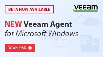 NEW Veeam Agent for Microsoft Windows