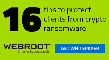 When ransomware hits your clients, what do you do?