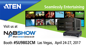 Don't miss ATEN at NAB Show April 24-27!