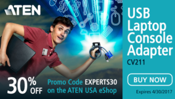 Save the day with this special offer from ATEN!