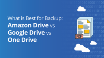 Comparison of Amazon Drive, Google Drive, OneDrive