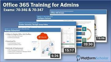 Office 365 Advanced Training for Admins