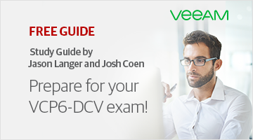 Prepare for your VMware VCP6-DCV exam.
