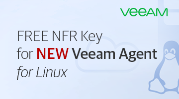 NFR key for Veeam Agent for Linux