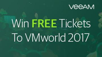 Veeam gives away 10 full conference passes