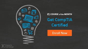 Enroll in August's Course of the Month