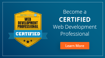 Want to be a Web Developer? Get Certified Today!