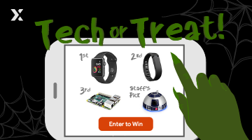 Tech or Treat! - Giveaway