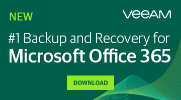 NEW Veeam Backup for Microsoft Office 365 1.5