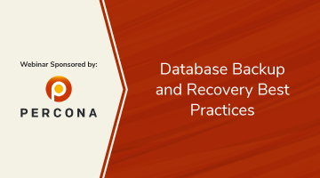 [Webinar On Demand] Database Backup and Recovery