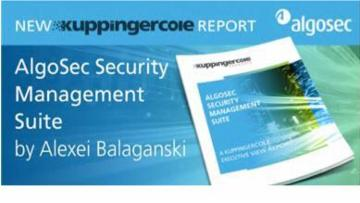 KuppingerCole Reviews AlgoSec in Executive Report