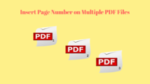 PDF Page Numberer