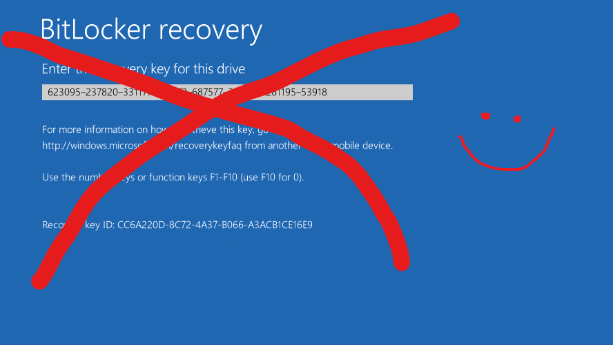 How to create a file-based bitlocker protector for recovery