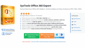 SysTools Office 365 Extractor Tool