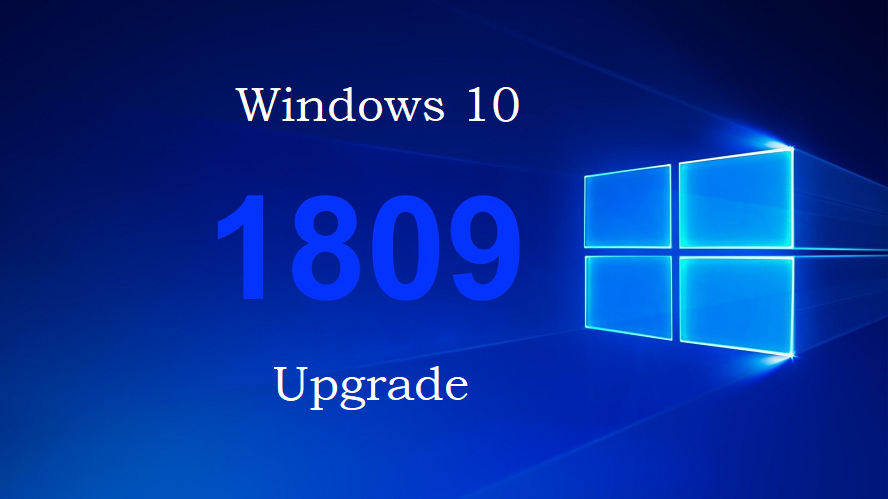 Upgrading to Windows 10 Version 1809 - A documented