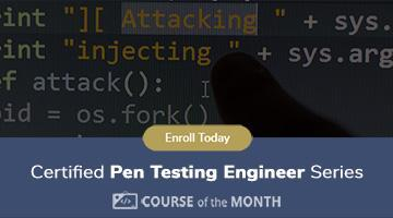 Train for your Pen Testing Engineer Certification