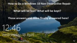 Windows 10 Repair