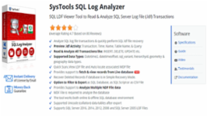 SQL Log Analyzer