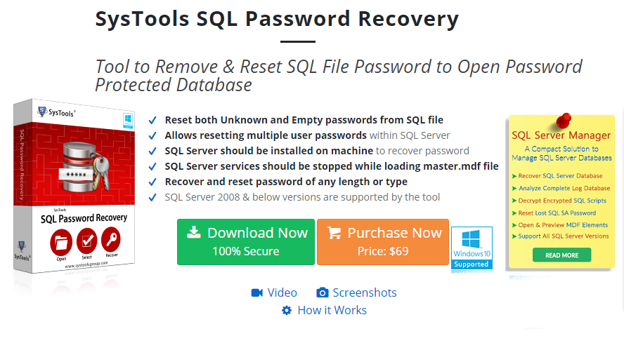 ms sql reset password for user