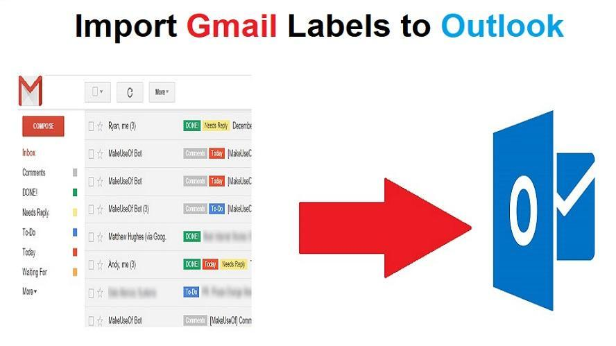 How To Import Gmail Labels To Outlook 2016, 2013, 2010, 2007 Folders
