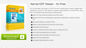 Kernel OST Viewer - It's Free