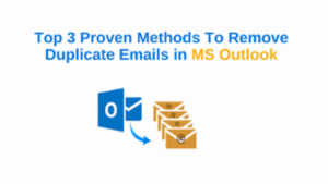 remove duplicate emails in Outlook
